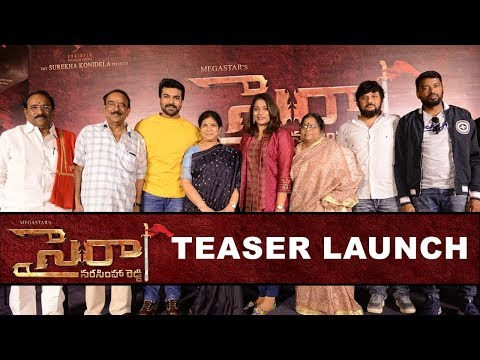 Syeraa Narasimha Reddy Teaser Launch Event