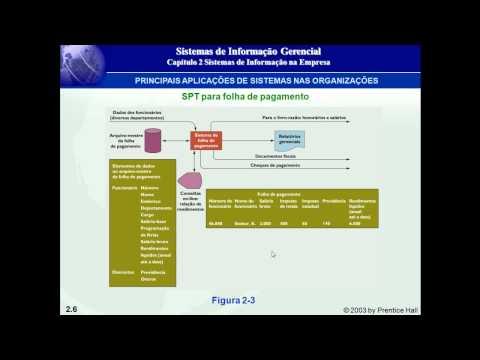 Tipos de Sistemas nas Organizações