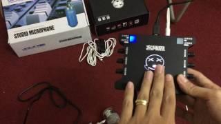 Hướng Dẫn Chi Tiết Live Stream ĐT Với Combo Libablue K3000, Sound Card XOX-K10 & XOX-MA1