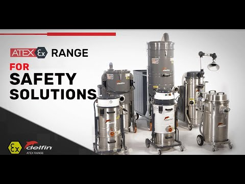 Delfin 4533 Z22 - II 3D Atex Zone 22 Certified Industrial Vacuum Cleaner