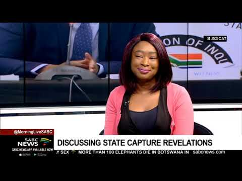 Discussing State Capture revelations