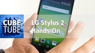 LG Stylus 2 mit Stift und DAB plus Radioempfang Hands On deutsch HD