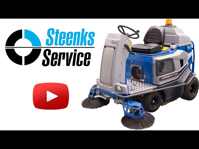 YouTube video | Ground cover floor sweeper Stefix 135