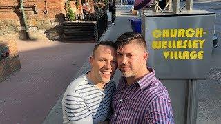 Visiting Canada's biggest gay village! 🏳️🌈👬 Travel Video: Toronto
