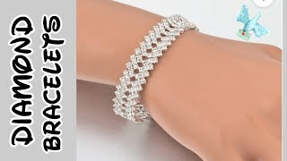 Best Diamond Bracelets For Women | Tennis Diamond Bracelets | Gold Bracelets