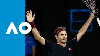 Roger Federer vs John Millman Extended Highlights (3R)   Australian Open 2020