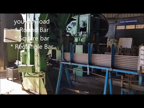 Industrial Automation High Speed Bar Feeder Machine