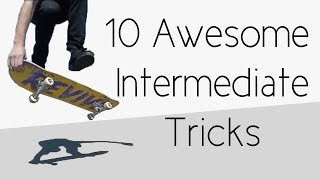 #1 Skateboard Intermediate – Awesome tricks