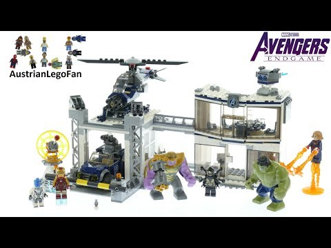 Vidéo LEGO Marvel 76131 : L'attaque du QG des Avengers