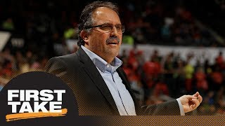 First Take reacts to Stan Van Gundy calling some NCAA restriction rules racist | First Take | ESPN