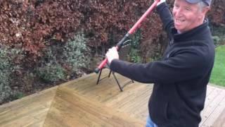 Pendulum Casting In Garden