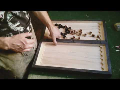 Как изготовить нарды. Учимся делать нарды.
