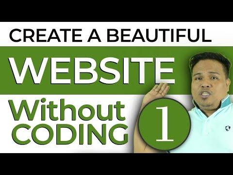 How to create your own website without coding with wordpress  - Part 1