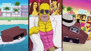 Simpsons LAZERHAWK Rider