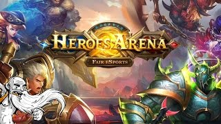 """MOBILE MOBA MADNESS!!!"" Heroes Arena IOS / Android gameplay walkthrough"