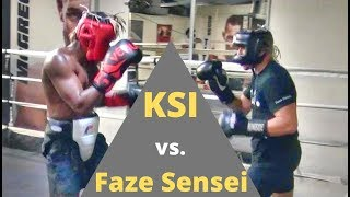 KSI vs  Faze Sensei  FULL LEGENDARY SPARRING SESSION!!! (Faze gets dropped)