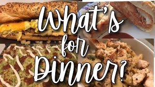 EASY FAMILY DINNER IDEAS // WHAT'S FOR DINNER? // VLOGMAS 2018