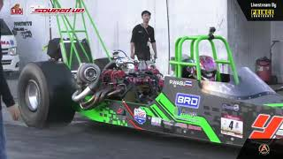 Final  Race 1 : Super Dragster Benzene   Souped Up 2019