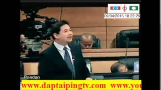 RAFIZI: Suara Debat Parlimen First Class, BN Yang Zalim Akan Tersungkur.  Youtube