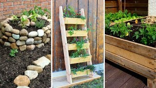 🌷 5 DIY Projects For Small Garden: Improving Your Garden In The Simplest Way 🌸