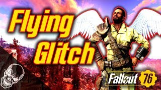 Flying Glitch In Fallout 76 (Funnest Glitch With A Jetpack)