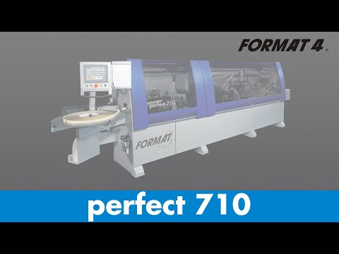 "Plaqueuse de chants ""Premium"" perfect 710"