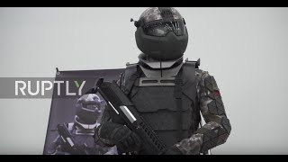 Russia: Next-gen combat suit unveiled at opening of Moscow prototyping centre