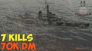 World Of WarShips   Orion   7 KILLS   70K Damage - Replay Gameplay 1080p 60 Fps