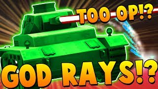 THREE LEVEL 100 HUNDRED PLAYERS USING GOD RAYS!? - SHELLSHOCK LIVE SHOWDOWN!