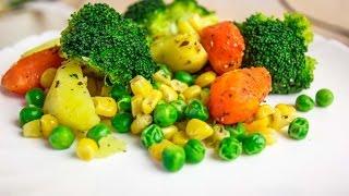 Овощи на пару | Диетическое блюдо