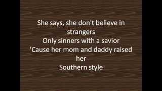 Darius Rucker - Southern Style LYRIC VIDEO
