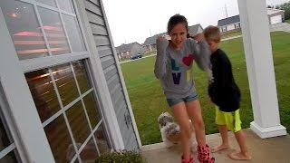 TRUTH OR DARE IN THE RAIN! ~5TimesTheFun~ Family Vlog #102