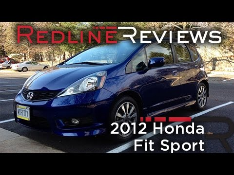 2012 Honda Fit Sport One Year Review