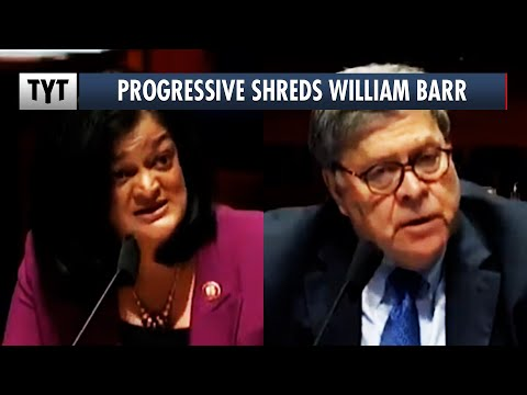 William Barr SHUT DOWN By Pramila Jayapal