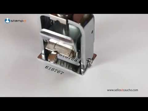 numerador automático foska zs506