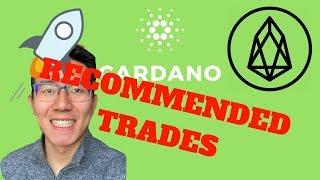 *SECRET* Crypto Trading Alarm | Cardano ADA, Stellar Lumens XLM, EOS Technical Analysis