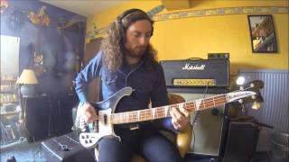 Deep Purple - Never Before - Bass cover