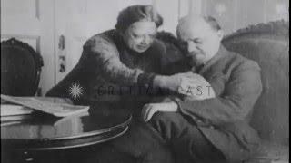 Lenin con su gato