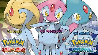 Uxie  - (Pokémon) - Pokemon Omega Ruby/Alpha Sapphire - Battle! Uxie/Mesprit/Azelf Music (HQ)