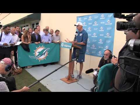 Miami Dolphins Coach Joe Philbin addresses Richie Incognito situation