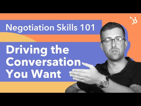 Negotiation Skills 101: Driving the Conversation You Want - YouTube