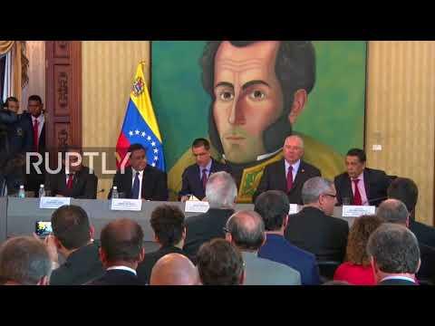 , title : 'Venezuela: 'Hostile, disrespectful and abject' - Venezuelan FM slams Trump comments'