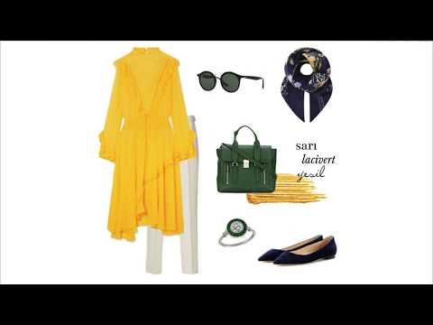 Sarı Tunik Hangi Renklerle, Nasıl Giyilir ? I #NasılGiyerim