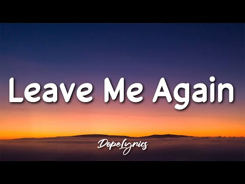 Yung $hade - Leave Me Again (Lyrics) 🎵