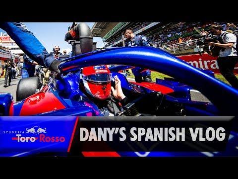 F1 2019: Daniil Kvyat's Spanish GP Vlog