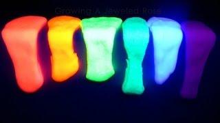 DIY Самый быстрый и простой способ сделать светящийся лизун!? Epic fail glow slime!