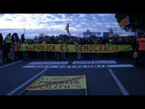 Planlos in Barcelona | Demo für Freilassung