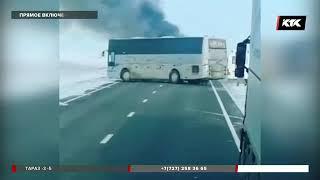 52 человека заживо сгорели в автобусе в Актюбинской области