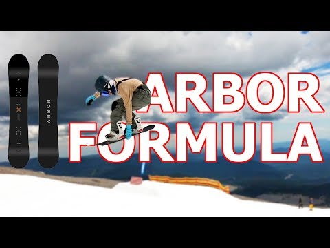 Arbor Formula Snowboard Review