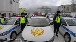 Атырау Новые полицейские авто
